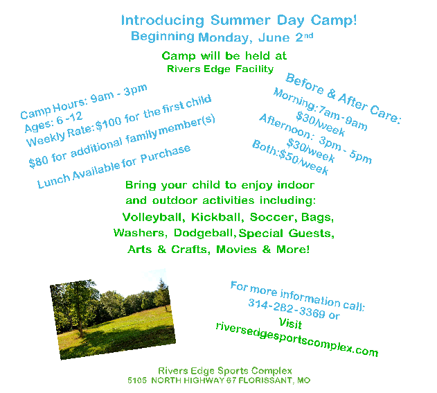 BRING YOUR KIDS TO SUMMER CAMP!