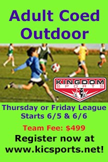 Adult Coed Outdoor League