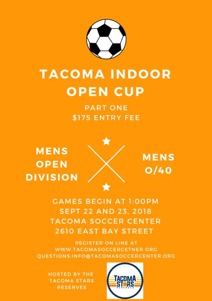 TACOMA INDOOR OPEN CUP PART 1